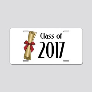 Class of 2017 Diploma Aluminum License Plate