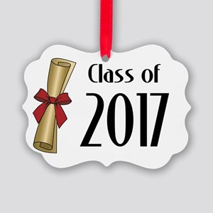 Class of 2017 Diploma Picture Ornament