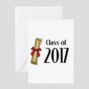 Class of 2017 Diploma Greeting Card
