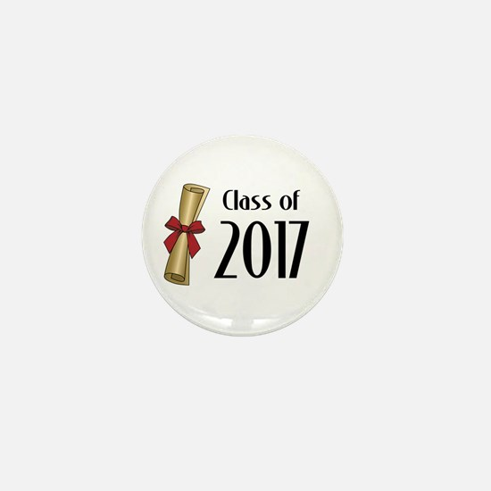 Class of 2017 Diploma Mini Button (100 pack)