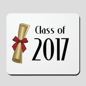 Class of 2017 Diploma Mousepad