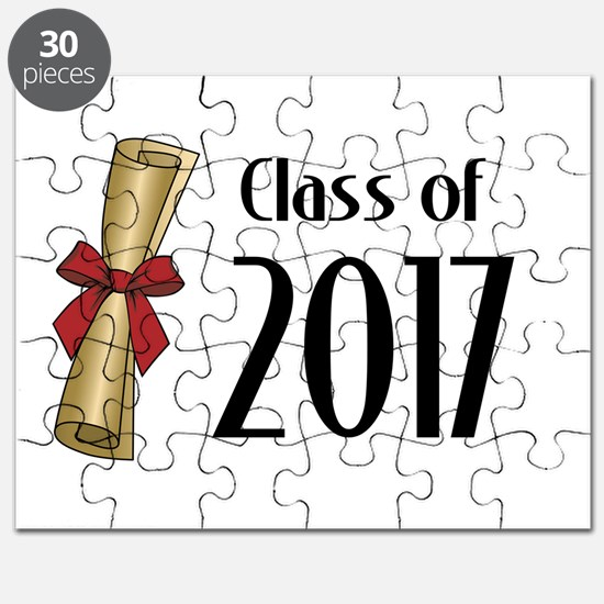 Class of 2017 Diploma Puzzle