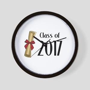 Class of 2017 Diploma Wall Clock