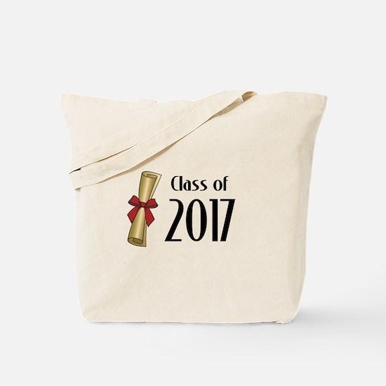 Class of 2017 Diploma Tote Bag
