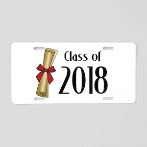 Class of 2018 Diploma Aluminum License Plate