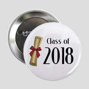 "Class of 2018 Diploma 2.25"" Button"