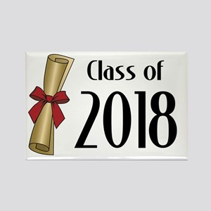 Class of 2018 Diploma Rectangle Magnet