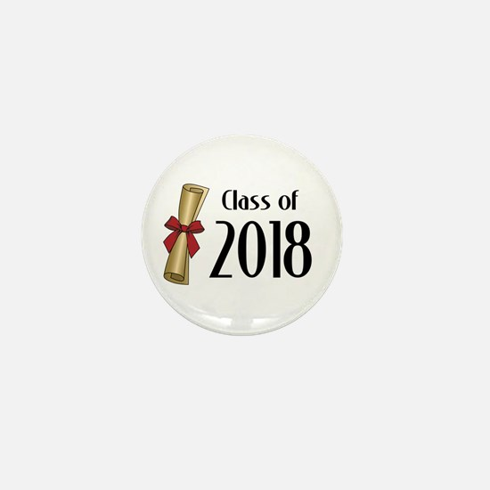 Class of 2018 Diploma Mini Button