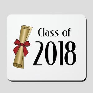 Class of 2018 Diploma Mousepad