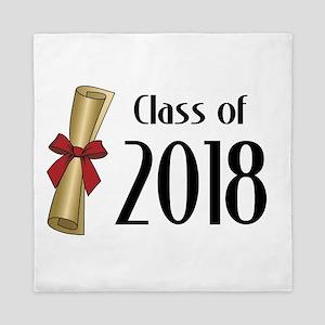 Class of 2018 Diploma Queen Duvet
