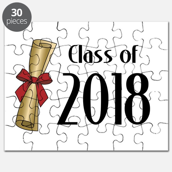 Class of 2018 Diploma Puzzle