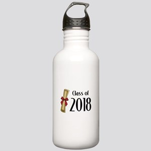 Class of 2018 Diploma Stainless Water Bottle 1.0L
