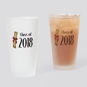 Class of 2018 Diploma Drinking Glass