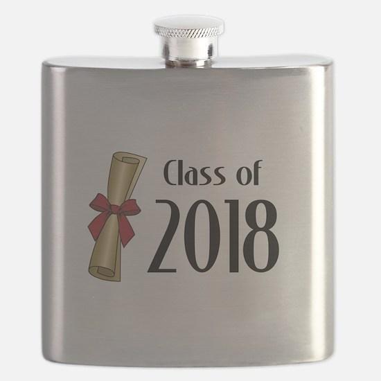 Class of 2018 Diploma Flask
