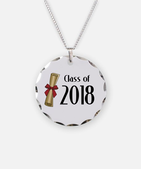 Class of 2018 Diploma Necklace