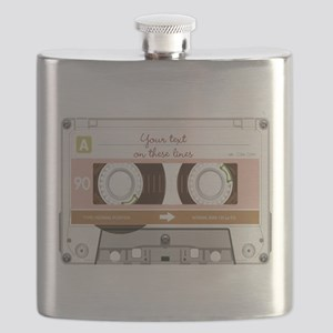 Cassette Tape - Tan Flask