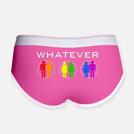 Rainbow Whatever Women's Boy Brief