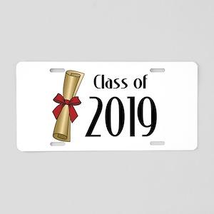 Class of 2019 Diploma Aluminum License Plate
