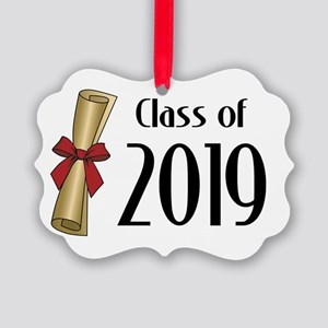 Class of 2019 Diploma Picture Ornament