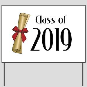 Class of 2019 Diploma Yard Sign