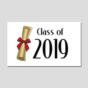 Class of 2019 Diploma Car Magnet 20 x 12