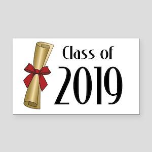 Class of 2019 Diploma Rectangle Car Magnet