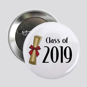 "Class of 2019 Diploma 2.25"" Button"