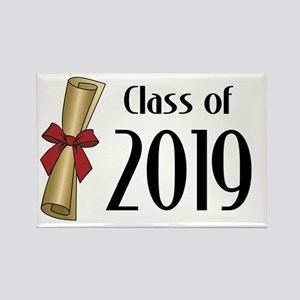Class of 2019 Diploma Rectangle Magnet