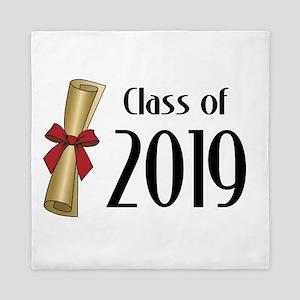 Class of 2019 Diploma Queen Duvet