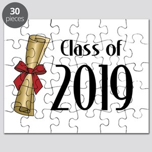 Class of 2019 Diploma Puzzle