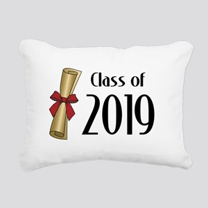 Class of 2019 Diploma Rectangular Canvas Pillow