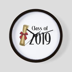 Class of 2019 Diploma Wall Clock