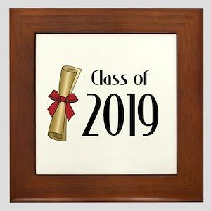 Class of 2019 Diploma Framed Tile
