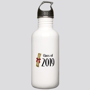 Class of 2019 Diploma Stainless Water Bottle 1.0L