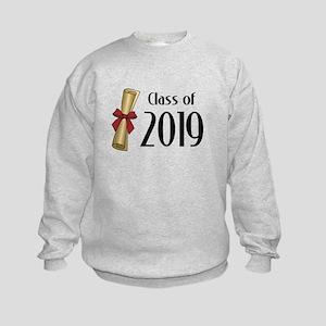 Class of 2019 Diploma Kids Sweatshirt