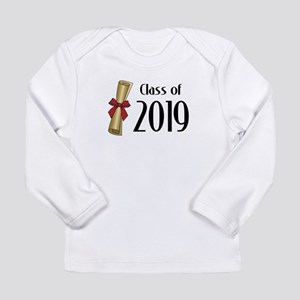 Class of 2019 Diploma Long Sleeve Infant T-Shirt