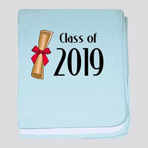 Class of 2019 Diploma baby blanket