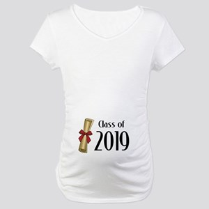 Class of 2019 Diploma Maternity T-Shirt