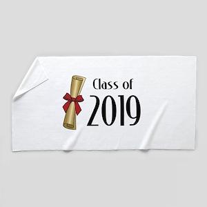 Class of 2019 Diploma Beach Towel