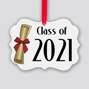 Class of 2021 Diploma Picture Ornament