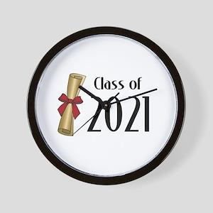 Class of 2021 Diploma Wall Clock