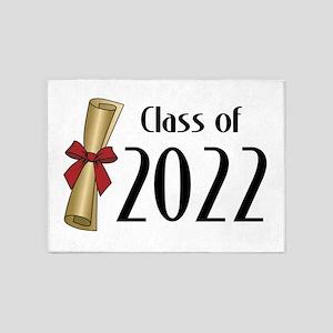 Class of 2022 Diploma 5'x7'Area Rug