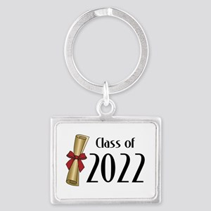 Class of 2022 Diploma Landscape Keychain
