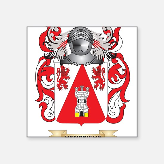 Hendrichs Coat of Arms (Family Crest) Sticker