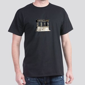 Caryatid Porch Erechtheion Dark T-Shirt
