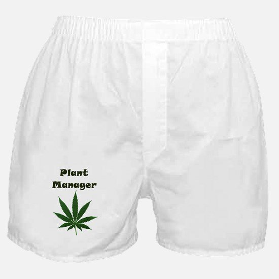 Plant Manager Boxer Shorts