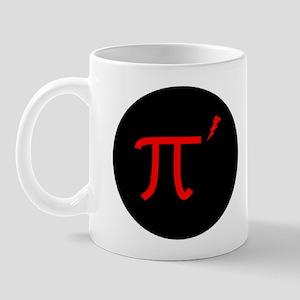"""""""Pi prime"""" Pirate Logo Mug"""