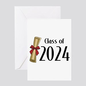 Class of 2024 Diploma Greeting Card