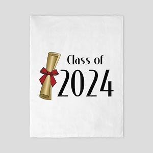 Class of 2024 Diploma Twin Duvet