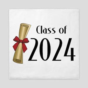 Class of 2024 Diploma Queen Duvet